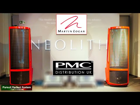 I visit PMC HiFi Speakers HQ to find out about Martin Logan Speakers & Subwoofers !!!???