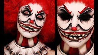TWISTED CLOWN | Creepy Halloween Makeup Tutorial