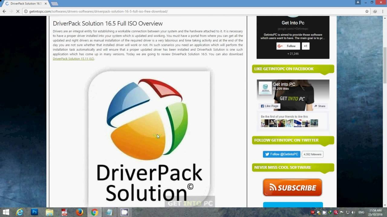 driverpack solution 2019 google drive