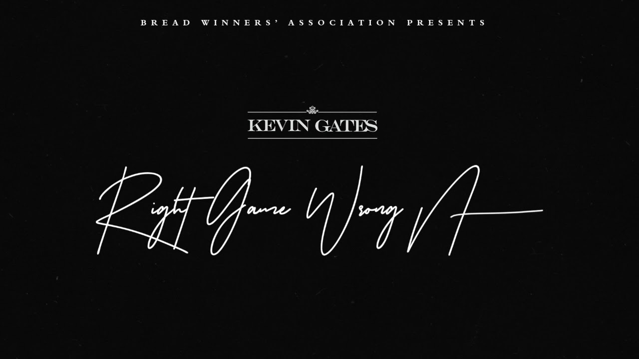 Kevin Gates – Right Game Wrong N**** [Official Audio]