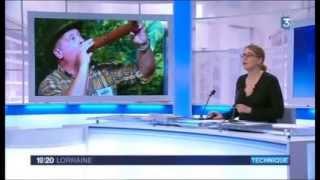 1er championnat d'imitation de brame du cerf au Parc Animalier de Sainte-Croix par France ...