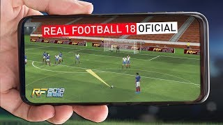 NOVO REAL FOOTBALL 2018 OFICIAL PARA ANDROID - SERÁ BOM OU RUIM ?