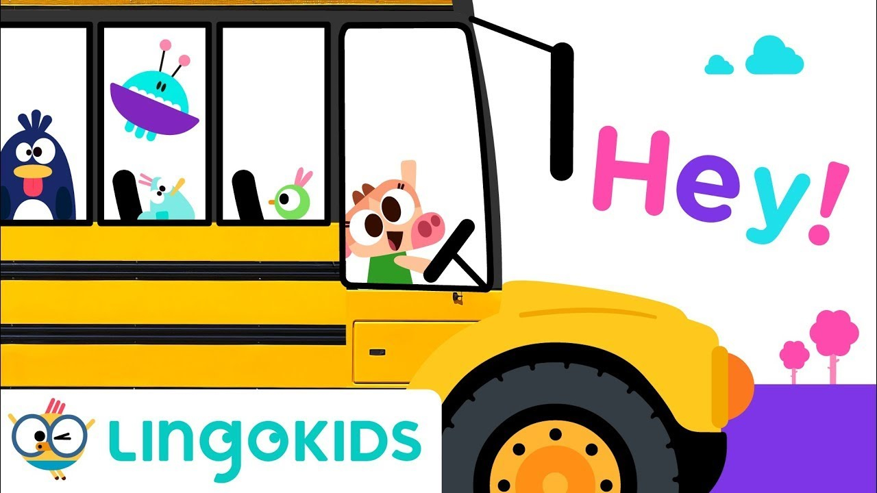 WHEELS ON THE BUS with VEHICLES 🚌🏍️🚜  Songs For Kids   Lingokids
