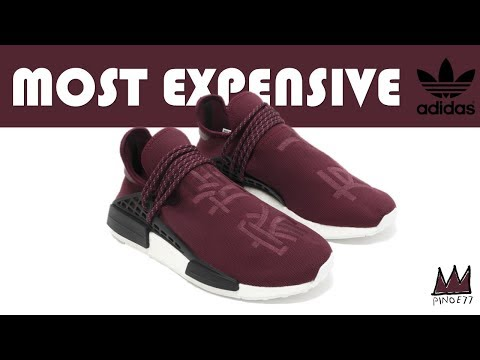 YOU WILL NEVER GUESS THE MOST EXPENSIVE ADIDAS FOR SALE - MOST EXPENSIVE