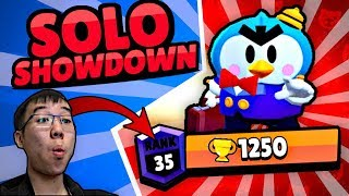 😱 SOLO SHOWDOWN MIT 1250 + 🏆 Mr. P | Brawl Stars deutsch