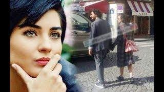 ¡Tuba Büyüküstün y su novio Umut Evirgen momentos romanticos en un centro comercial!