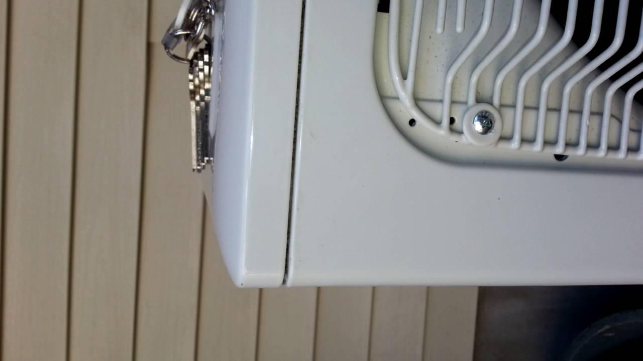American Standard Trane Mini Split Condenser Vibrating