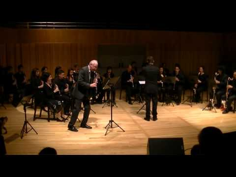 Concertino for Clarinet - Giuseppe Tartini ( Ron Samuels junto a Ensamble de Clarinetes)