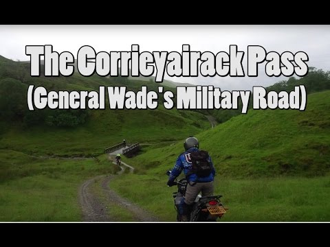 Fort Augustus - The Corrieyairack Pass (W-E)