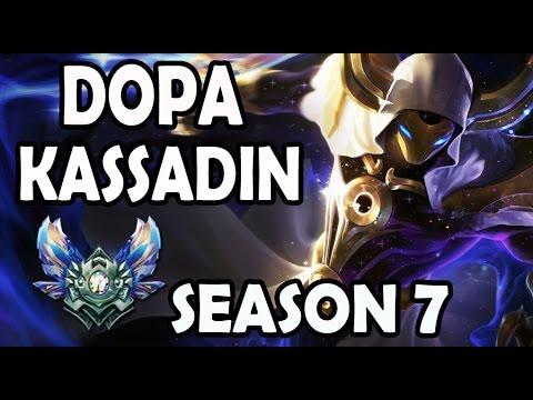 Apdo (Dopa) KASSADIN vs AHRI - Road to Rank #1 Korea SoloQ Season 7