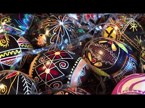 See The Mesmerizing Creation Of A Ukrainian Easter Egg
