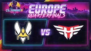 Vitality vs Heroic (Dust 2) - cs_summit 6 Online: EU Playoffs - Game 1