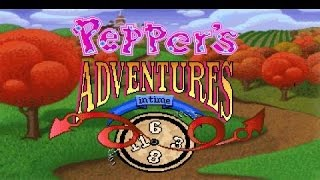 pepper's adventures in time (a.k.a. twisty h gameplay (PC Game, 1993)