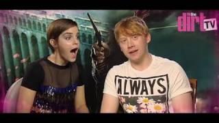 Harry Potter Stars Emma Watson & Rupert Grint Kiss & Tell! - The Dirt TV