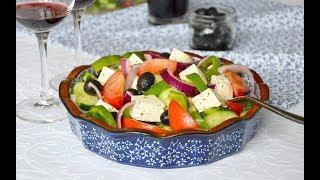 Салат «Греческий» с брынзой