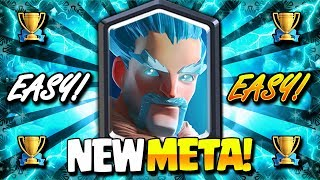 *ALERT!* NEW META SHIFT!! BEST TROPHY PUSH DECK IN CLASH ROYALE!!