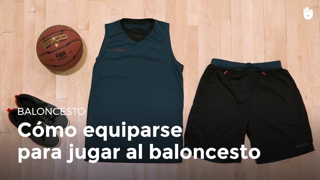 bc9923b4fde72 Ropa y equipaje para jugar al baloncesto