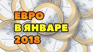 Прогноз курса евро на январь 2018. Евро рубль в России в январе 2018