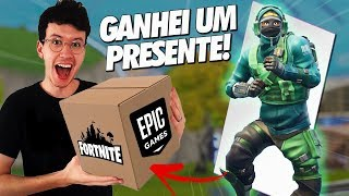 I GOT A SUPER RARE EPIC SKIN! -FORTNITE