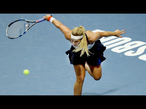 2017 St. Petersburg Ladies Trophy Quarterfinals   Dominika Cibulkova vs Vesnina   WTA Highlights