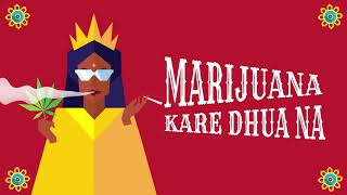 "Major Lazer & Nucleya - ""Jadi Buti"" feat.  Rashmeet Kaur (Lyric Video)"