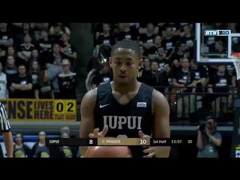 IUPUI vs Purdue  NCAA Men's Basketball December 10, 2017