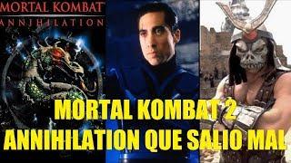 Mortal Kombat 2 Annihilation Que Salio Mal y Curiosidades
