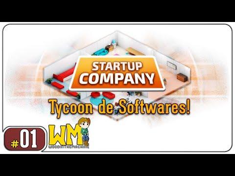 Você faz a série: Startup Company #01 - Tycoon de Softwares - Gameplay [PT-BR] - Vamos Jogar