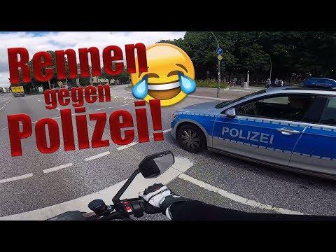 Ampel Sprint mit der Polizei | Easy SNACK! 😂