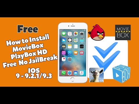 How To Get MovieBox & PlayBox HD + Paid Games/Apps FREE IOS 9-9.2.1/9.3 (NO Jailbreak) iPhone,iPad