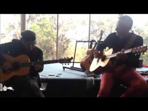 Tommy Emmanuel - Sunset (TE Guitar Camp 2014 Sydney Australia)