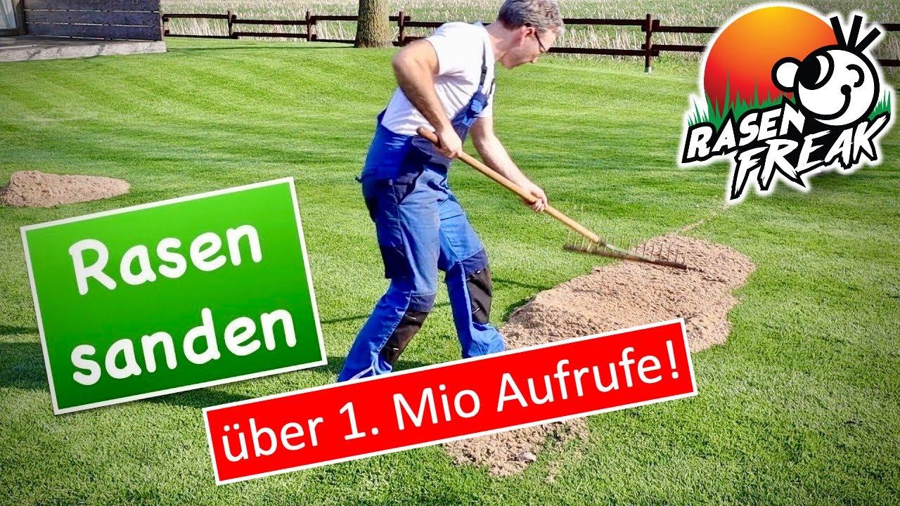 Sand Für Rasen