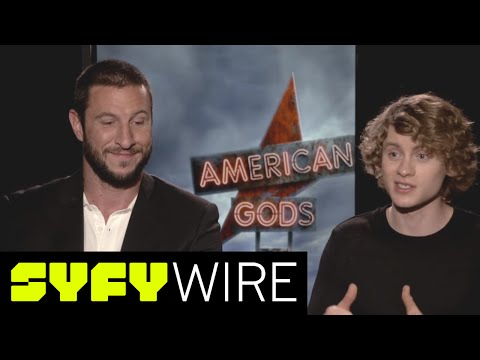 American Gods' Pablo Schreiber and Bruce Langley: Intense Auditions  SYFY WIRE
