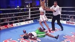 Natascha Ragosina vs. Carlette Ewell - Highlights | Brutal KO