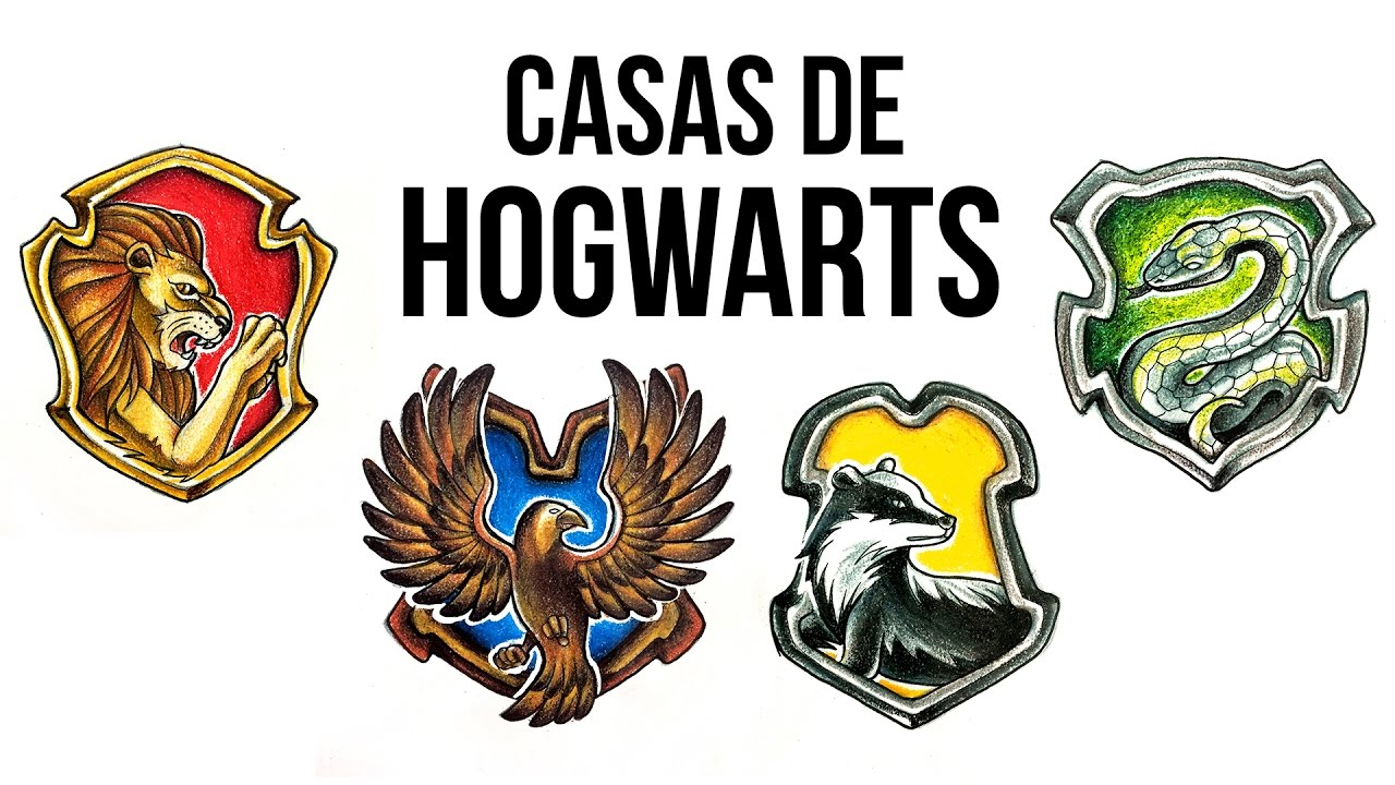 Casas de hogwarts harry potter speed drawing 55 youtube - Harry potter casa ...