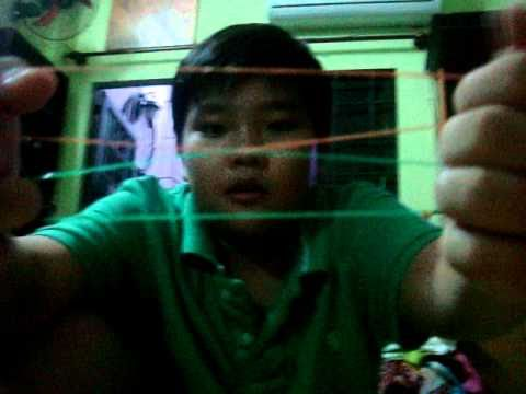 Ảo thuật với 2 sợi dây thun đơn giản =))