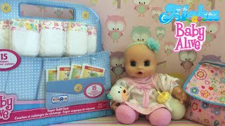 Baby Alive Sip & Snooze Name Reveil & Details🍼 Unboxing of Super Refill Pack😊