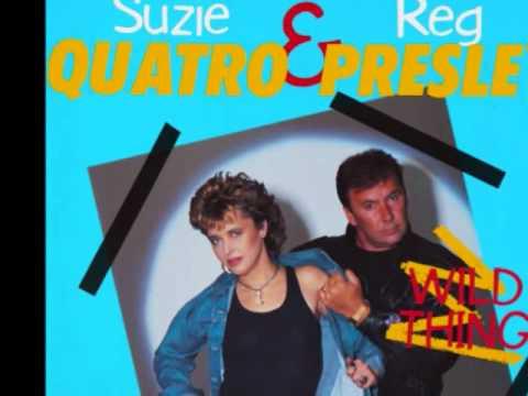 SUZI QUATRO  I DONT WANT YOU  *With REG PRESLEY The Troggs 1986
