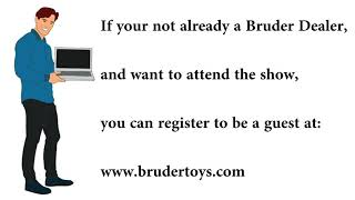 The Bruder Virtual Toy Show 2021