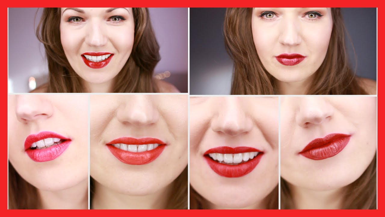 BEST RED LIPSTICKS All Skin Tones YouTube - Best mac lipsticks shades for all type of skin tone