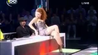 اغراء مريام فارس مع حبيبها ترقص له امام الجمهور عرب ايدول keek