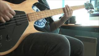 Kvelertak - Trepan (Bass cover)