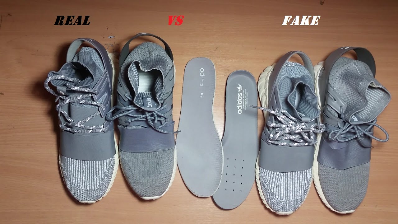 102a4d2f15e8 FAKE VS REAL ADIDAS TUBULAR DOOM PRIME KNIT COMPARSION - YouTube