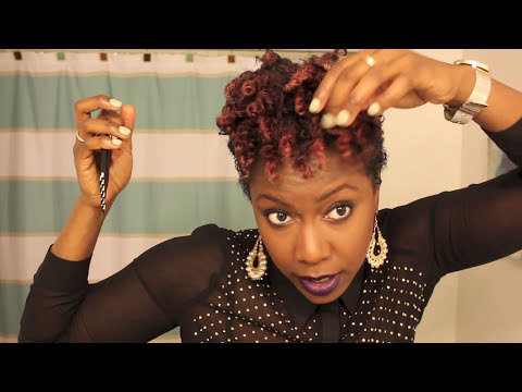 TWO STRAND TWIST OUT   3c-4a SHORT NATURAL HAIR - YouTube