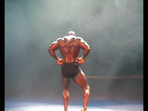 Joel Stubbs with his amazing back