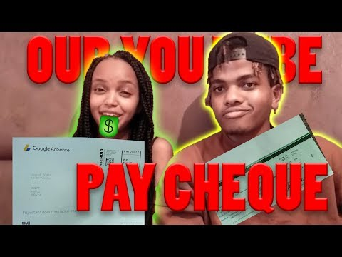 Our YouTube Pay Cheque 💰//How We Make Money From Youtube