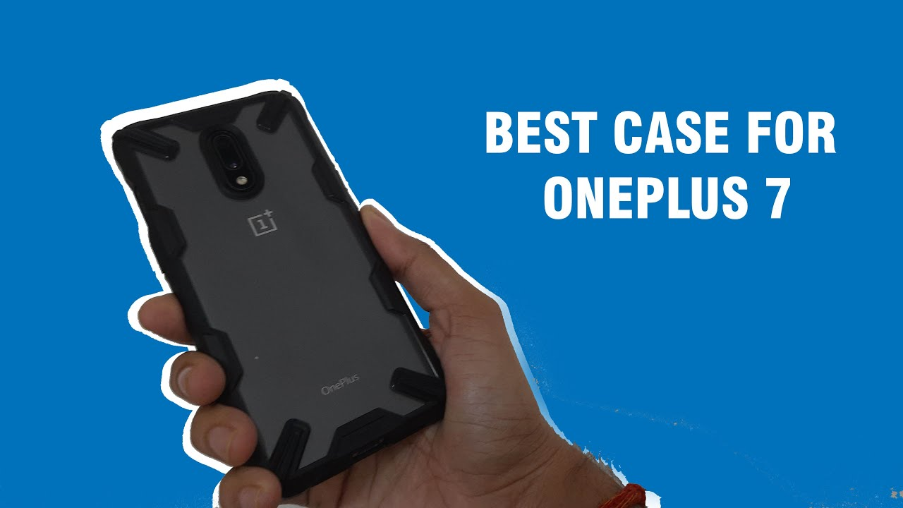 Best Back Cover for Oneplus 7 | Ringke Fusion X Unboxing | August 2020