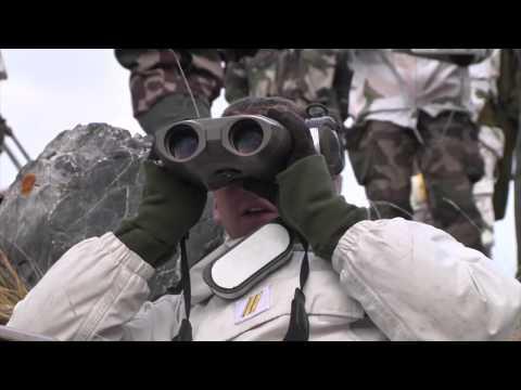 Les tireurs d'élite s'exercent dans les Alpes