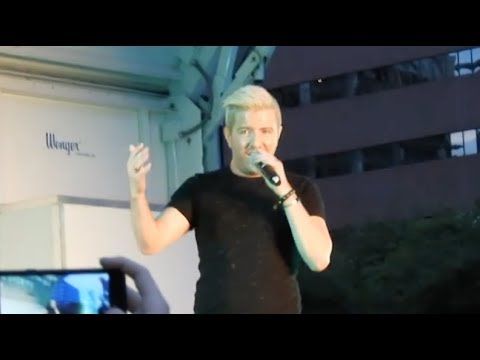 Billy Gilman (Acappella) : Say You Will & Don't Rain On My Parade - Grand Rapids MI 6/17/17