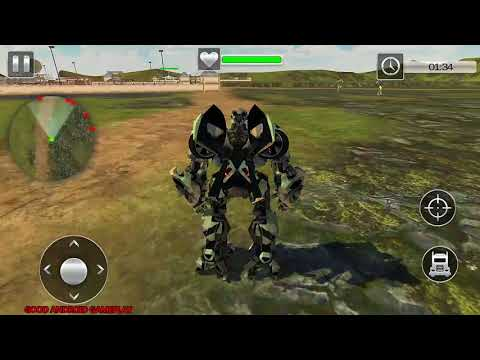 Army Truck Transform Robot Wars New 2017 - Android GamePlay FHD